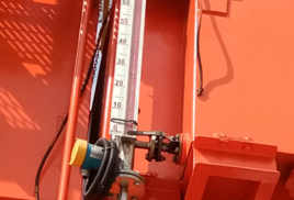 Application of Wide-panel Magnetic Level Indicator in Gantry Crane Power Oil Level Measurement
