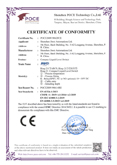 CE Certification (EMC)-Ring-21 Compact Lquid Level Switch